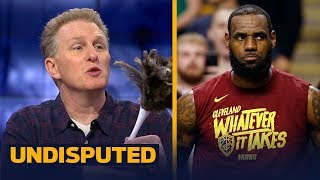 Michael Rapaport says it's over for LeBron's Cavs in the Eastern Conf. Finals | NBA | UNDISPUTED - Video Youtube