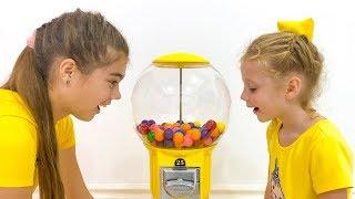 Nastya Und Stacy Machen Desserts Für Papa