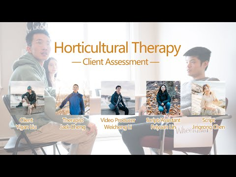 Horticultural Therapy Client Assessment — Physical Disability Client ...