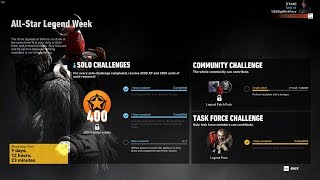 Ghost Recon Wildlands All Star Legend Week Solo Challenge 2 Kill The Yeti