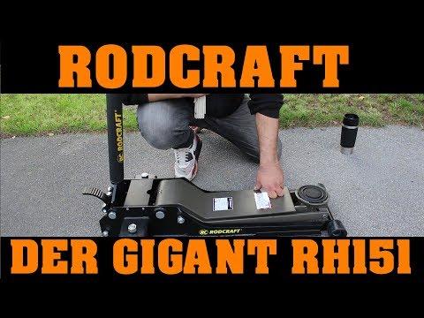 RODCRAFT RH151 - DER HULK unter den Wagenhebern