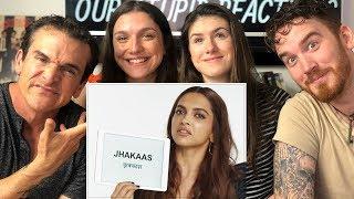 Deepika Padukone Teaches You Hindi Slang   REACTION