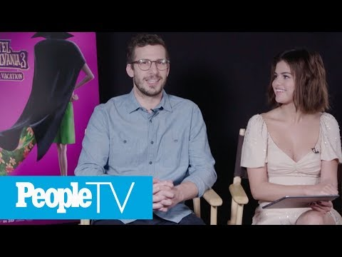 Kids Interview Selena Gomez & Andy Samberg, The Stars Of 'Hotel Transylvania 3' | PeopleTV