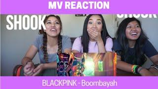 MV REACTION | BLACK PINK   Boombayah