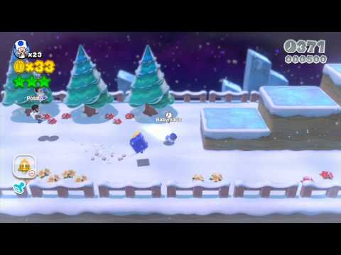 0 Super Mario 3D World: High Flying Ice Glitch