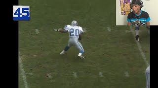 Reacting To Barry Sanders TOP 50 MOST RIDICULOUS PLAYS OF ALL TIME !