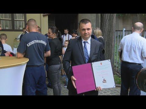 Budavári Szent György díj 2018 - video preview image