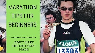 Marathon Training For Beginners - 5 Top Tips - Learn from the Mistakes I Made!!
