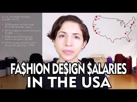 , title : 'Fashion Design Salaries in the USA