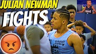 JULIAN NEWMAN FIGHTS and HEATED MOMENTS!