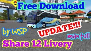 Download BUSSID Mod Bus MORODADI PRIMA - Update!! Free