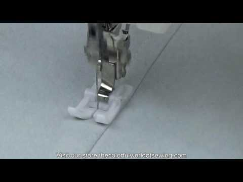 When To Sew With The Teflon Foot