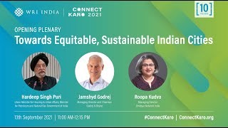 Opening Plenary Towards Equitable, Sustainable Indian Cities