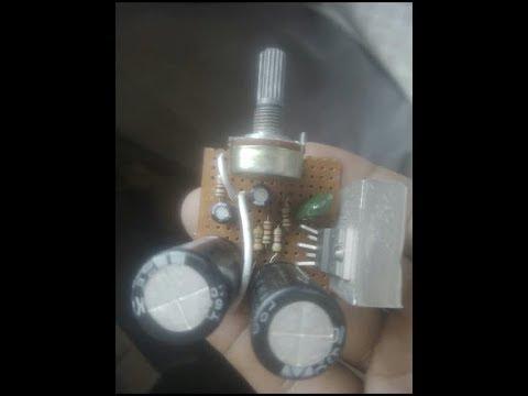 TDA 2050 power amplifire  12 volt