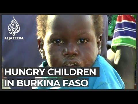 Burkina Faso: Half a million children a step from famine