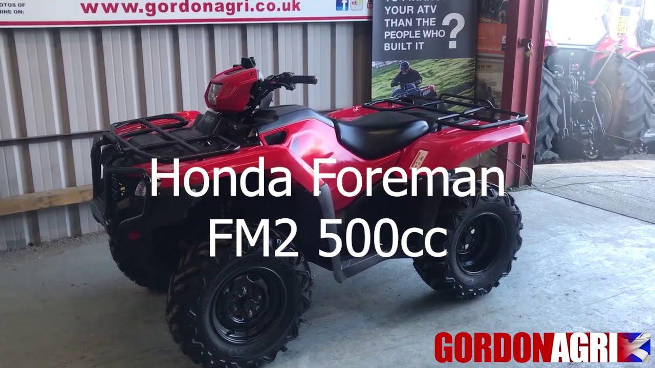 HONDA FOREMAN 500CC FM2