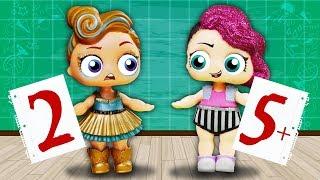 НЕ ДАЛА СПИСАТЬ!!! Лолошкола #1 Мультик с Куклами Лол Сюрприз Игрушки для девочек