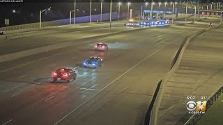 NTTA Traffic Cam Video Released Of Deadly Wrong-Way Crash On PGBT In Richardson