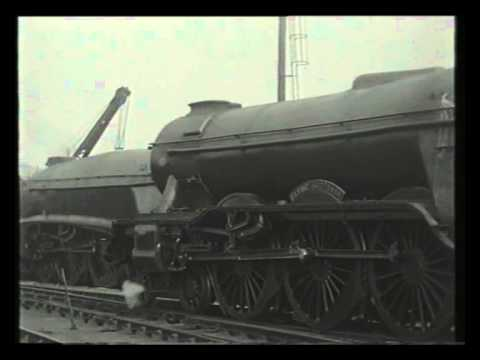 A Visit To Kings Cross Shed - Railway Roundabout 1959