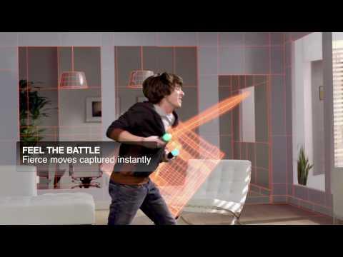 Видео № 0 из игры Sony Move Motion Controller (комплект 2 шт.) ZCM2E - (PS4 only)