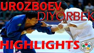 UROZBOEV Diyorbek - HIGHLIGHTS JUDO 2015-2016 [HD]