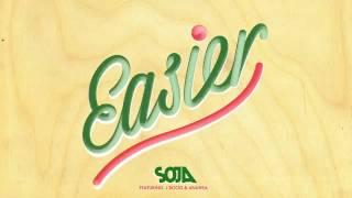 SOJA - Easier (Audio) ft. Anuhea, J Boog
