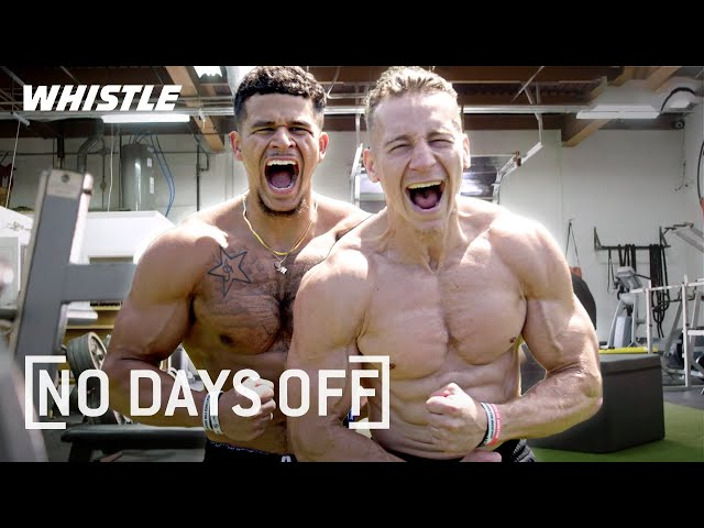 Insane NEVER BEFORE SEEN Workouts!   The Lost Breed