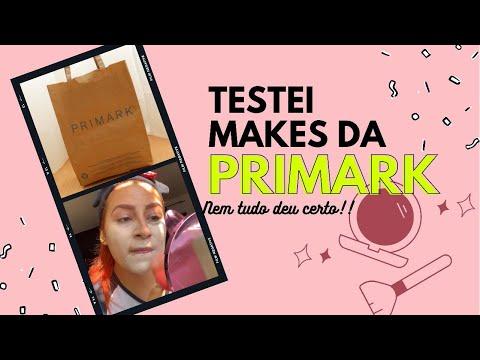 COMPREI AS MAQUIAGENS DA PRIMARK PARA TESTAR!!!