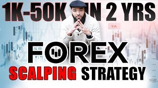 Forex Scalping Strategy   1K - 50k In 2 Years