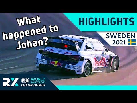 世界ラリークロス 第2戦スウェーデン(ホーリエス)2021年 RXクラスの決勝ファイナル+セミファイナルのハイライト動画