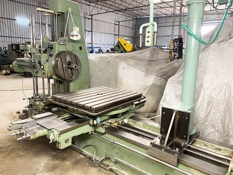 WMW Union BFT80 Boring Machine