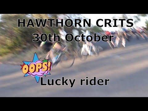 All About the Bike S02E09 - Hawthorn Crit  - He almost binned it on the corner