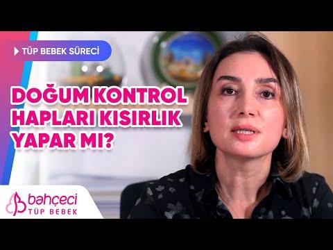 Doğum Kontrol Hapları Kısırlık Yapar mı? Doç. Dr. Berfu Demir