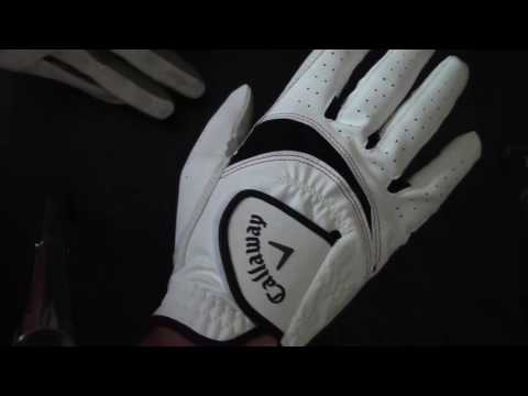Callaway X-Tech Golf Gloves review (after first use)