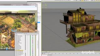 Mobile with Tag Games and 3ds Max