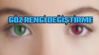 photoshop ile göz rengi nasıl değiştirilir? photoshop dersleri B.s.G