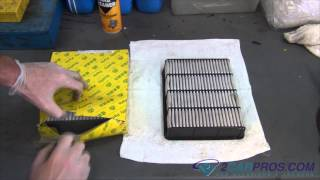 Air Filter Replacement Toyota Tacoma