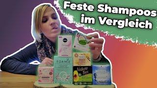 Feste Shampoos Test: Alle festen Shampoos bei dm im Vergleich