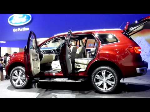 Ford Everest 2015 Bangkok Motor Show