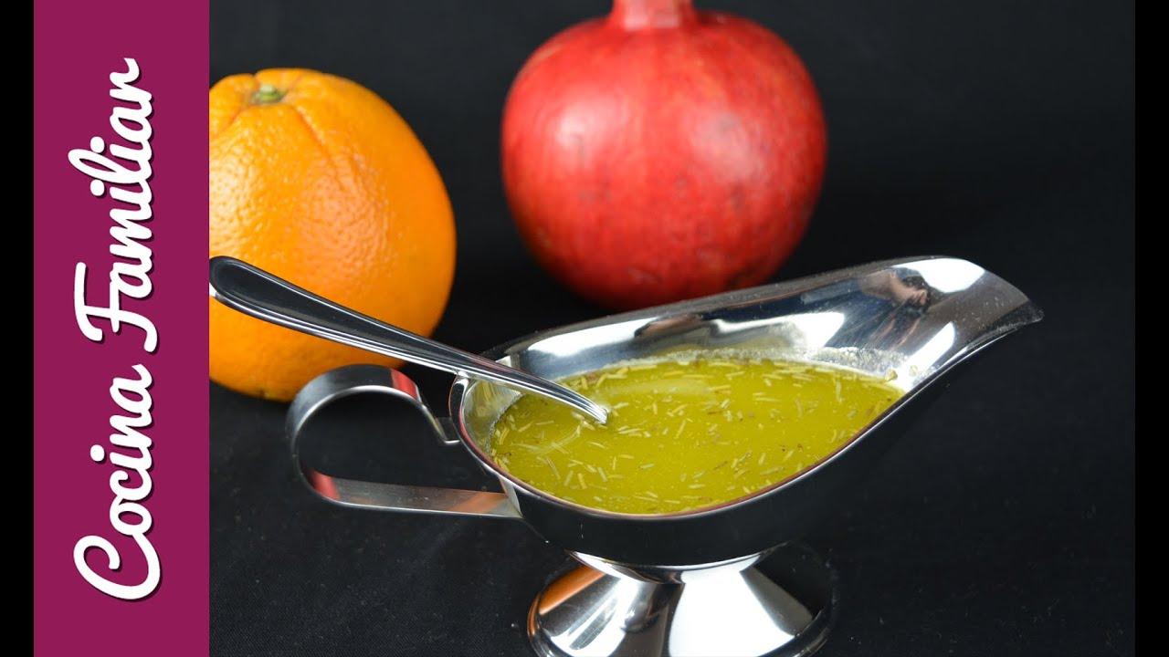 Como hacer salsa vinagreta | Javier Romero