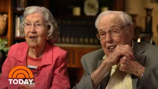 World's Oldest Married Couple Share Their Love On Valentine's Day | TODAY