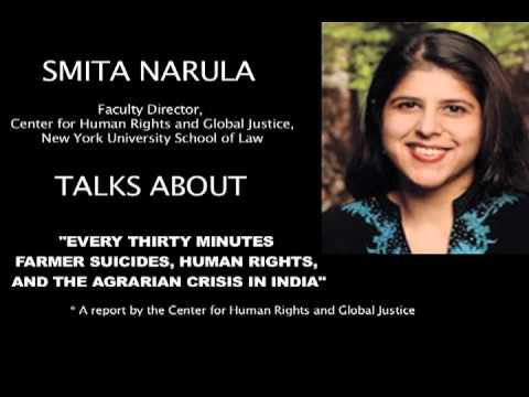 Smita Narula on Farmer Suicides