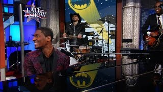 Jon Batiste Performs A Medley Of Batman Christmas Carols