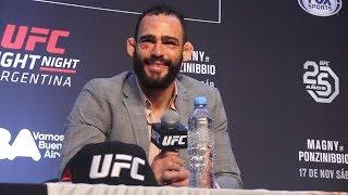 UFC Argentina: Santiago Ponzinibbio Post-Fight Press Conference - MMA Fighting