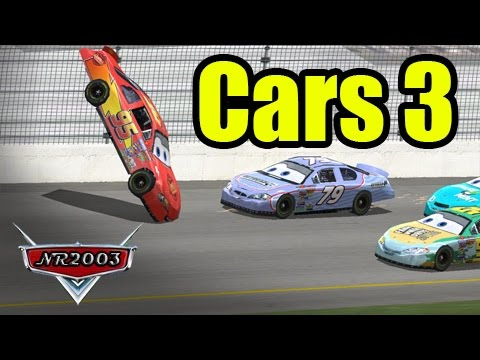 Cars 3 - McQueen's Crash - Reenactment
