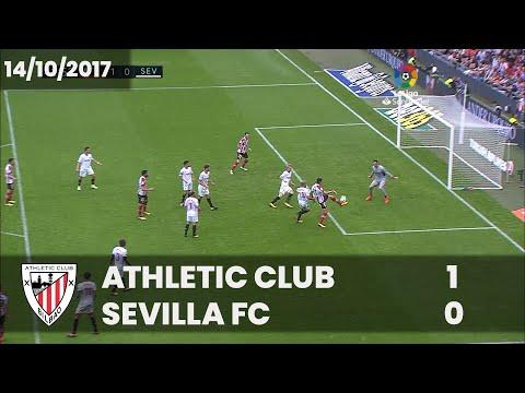 ⚽ FULL MATCH I LaLiga 17/18 I J8. Athletic Club 1 – Sevilla FC 0