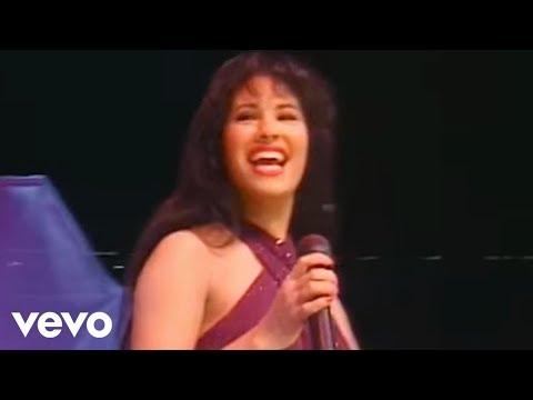 Selena Quintanilla Interpretando En Vivo Amor Prohibido