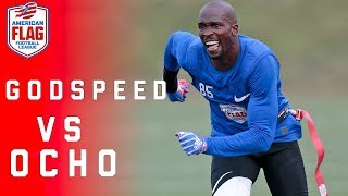 Flag Football Highlights: Ochocinco looks to advance his team to $1 Million final! | NFL