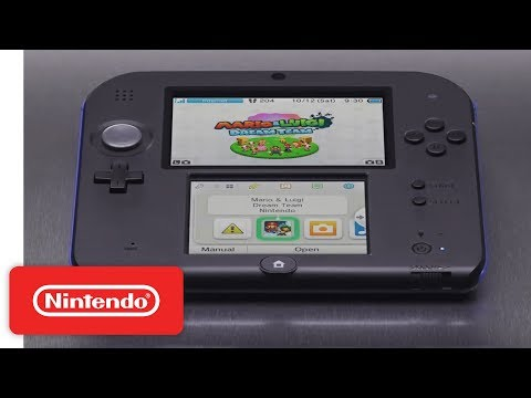 Nintendo Returns To The 2nd Dimension With 2DS Console