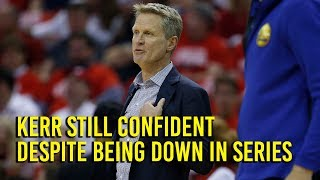 NBA Playoffs: Kerr confident with Warriors going into Game 6 - Video Youtube